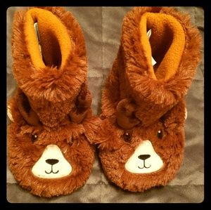 Toddler Bear Slippers
